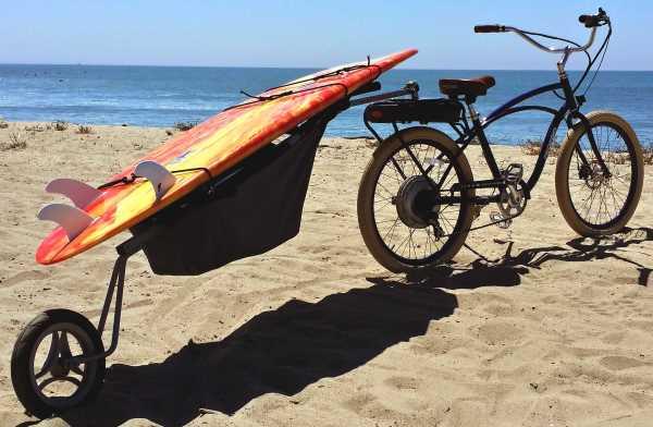 Trailer Walk Boards : Bicycle surfboard trailer models